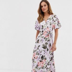 NWOT French Connection Armoise Crepe Floral Dress